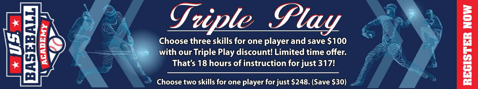 Triple Play Discount - Save $100